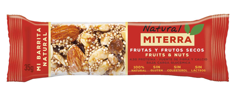 Snack – Frutas y Frutos secos (15 barritas)