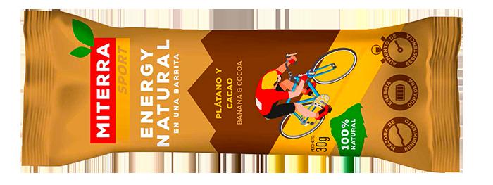 Sport – PLÁTANO Y CACAO (20 barritas)