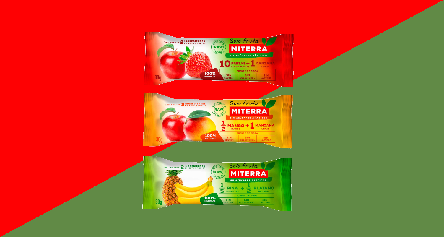 SURTIDO Solo Fruta (40 Barritas)